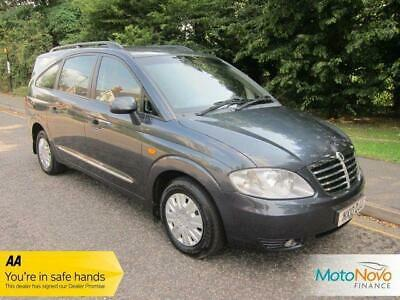 2010 10 Ssangyong Rodius 2.7 270 S 5D 163 Bhp Diesel, 7 Seats, Low Mileage