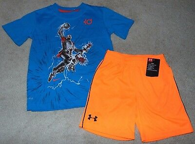 ~NWT Boys UNDER ARMOUR & NIKE Outfit! Size 4 Nice:)!
