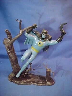 Orig 1965 AURORA Plastic BATMAN Built Up PLASTIC MODEL Kit