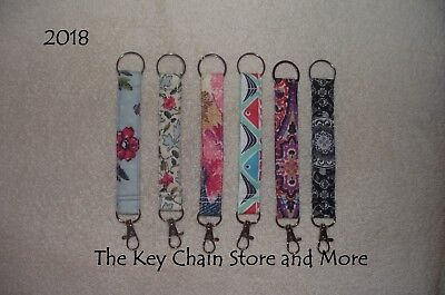 Handmade KEY CHAINS in Vera Bradley Prints * 2018