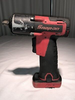 """SNAP ON CT761 3/8"""" Cordless Impact w/ 14.4 V Battery """"WORKS GREAT"""""""