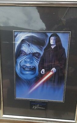 Exclusive  Limited edition star wars print
