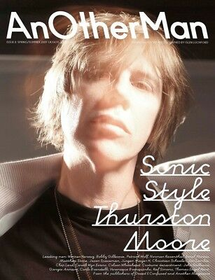 AnOther Man Magazine 8 2009 Sonic Youth Thurston Moore Glen Luchford Galliano