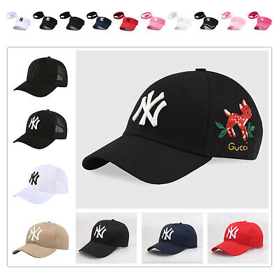 eb16c127 PINK NY NEW York Yankees Hats Caps Mens Womens Baseball Caps MLB ...