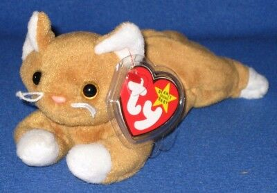 9f1728a595e TY ROARY THE LION BEANIE BABY - MINT with TAG (WRITING on TUSH TAG ...