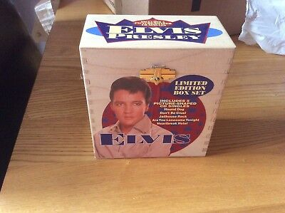 Rare Elvis Limited Edition Picture  Shaped Cd Box Set