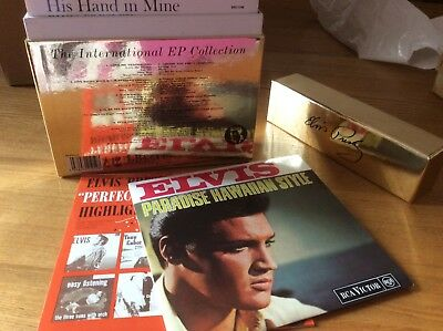 Elvis Single Vinyls Ep Box Set