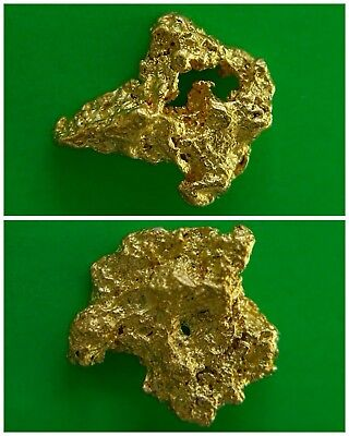 Gold Nuggets 0.80 gms Two Gold Nuggets / Australian / Natural / Gold Nugget