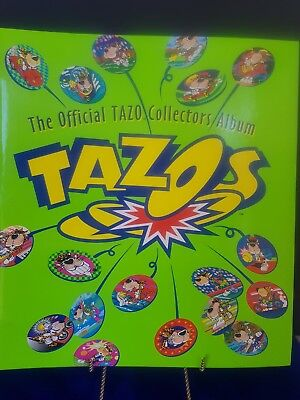 Tazos Looney Tunes, Simpsons, Time Warp, Techno, Frito Lay 1- 220 complete.