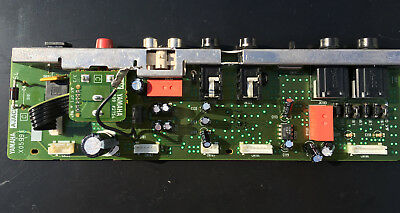 YAMAHA Piano P-120 A Jack Board Cinch Line In/Out Power-On Platine  #2754 X0599