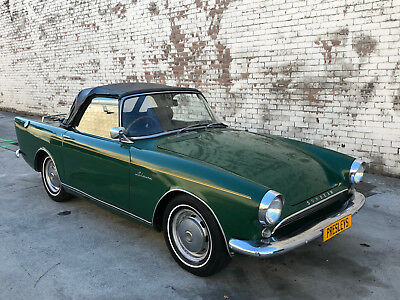 1959 SUNBEAM Alpine convertible coupe manual  suit tiger mgb mg tr4 triumph