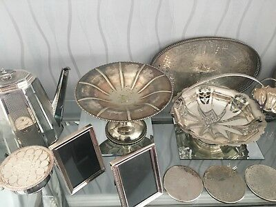 Joblot Of Silver Plated Items
