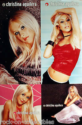 Christina Aguilera 1999 Rare Self Titled Double Sided Original Promo Poster