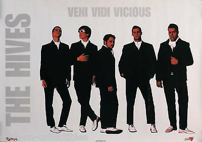 The Hives 2000 Veni Vidi Vicious Promo Poster Original