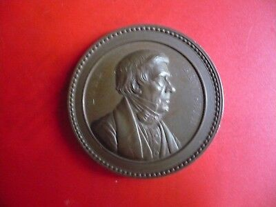 Rare Great Britain : London / Medaille / Medal Of Honour  Lord Brougham  / Boite