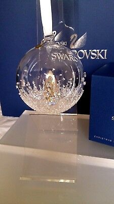 Swarovski 1 St Annual Ed 2013 Christmas Ball Ornament 5004498 Ret 2013 Brandnew
