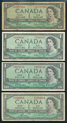 "Canada: 1961-89 $1 to $10 ""COLLECTION OF 22 DIFFERENT"" Includes 17 QEII Portrait"