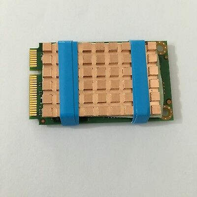 Msata SSD Copper Heatsink Cooling Plate with Laird Soft Thermal Pad 40x26x2mm