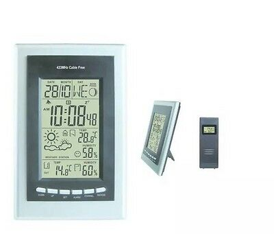Gardener's M8 Digital Weather Station Waterproof External Sensor Trend Indicator