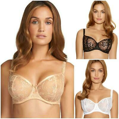Fantasie Allegra Vertical Seam Bra 9091 Underwired Non Padded Bra New Lingerie
