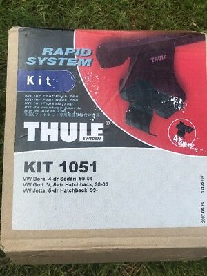 Thule Rapid Fitting Kit (1051) - 1 Kit (Pack of 4)