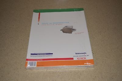 ^^ Tektronix Phaser 790 Transparency Film A-Size, 8.5X11, 50 Sheets - New (Ff)