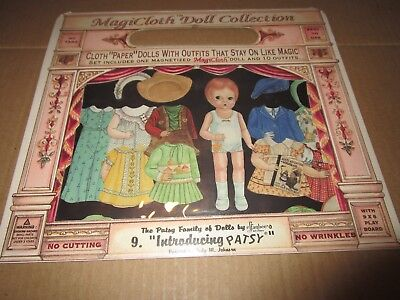 Magicloth Doll Collection--#9 Introducing Patsy--1995 Schylling-New