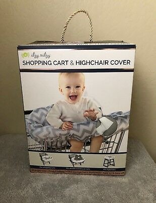 Itzy Ritzy Sitzy Shopping Cart High Chair Cover