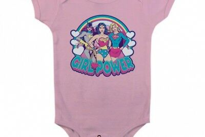 BATMAN - Baby Body - Girl Power - Pink (12 Month)