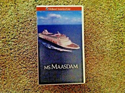 Holland American Video on Ms Maasdam with Deck Chart