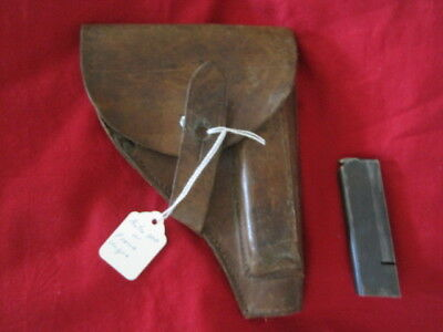 WW2 German Astra 300 Holster and Magazine