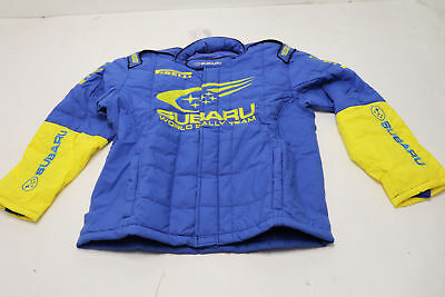 SPARCO SUBARU RALLY TEAM Replica JACKET Blue Racing Driving Race ADULT XXL NEW