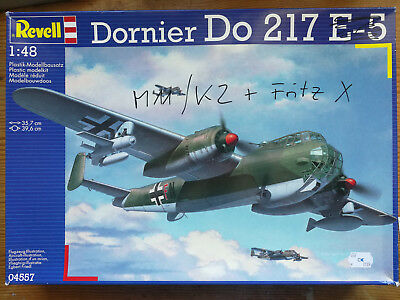 Dornier Do-217 M11/K2 + Fritz X in 1:48 von REVELL/KAE