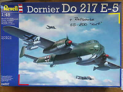 Dornier Do-217 E-5 + Rollbombe SB-800 KURT in 1:48 von REVELL/ARBA