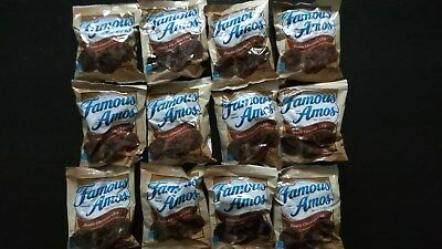 12 Pack - Famous Amos Cookies - Double Chocolate Chip - NEU! US Army UGR MRE EPA