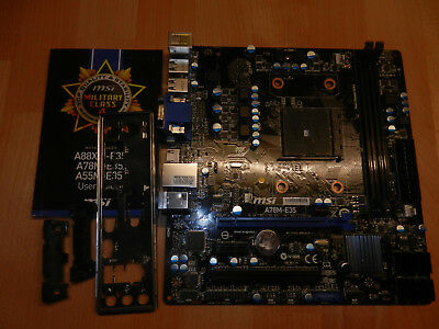 MSI A78M-E35  SOCKET FM2+ MS-7721 Motherboard Mainboard DEFEKT ??