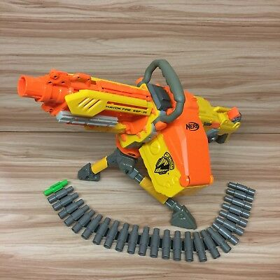 Nerf Havok Fire Ebf-25 Elite Gun Blaster N-Strike Havoc Ebf25 + Ammo Belt