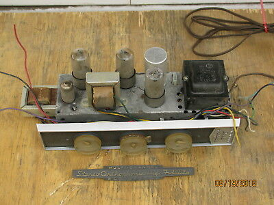 Vintage RCA RS-178 6V6 Stereo Integrated Tube Amplifier