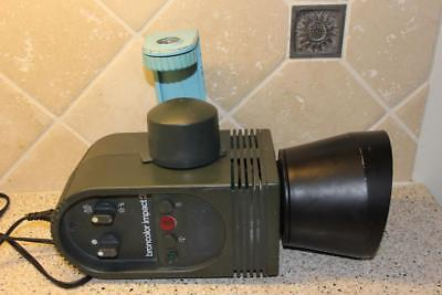 BronColor Impact 21 CH-4123 Photo Monolight w/ Reflector - Tested!!