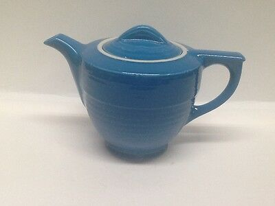 Hall China Peacock Adele 6 cup Teapot