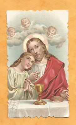 Image Pieuse  Holy Card Communion Mulhouse Mulhausen 1943 Ww2 Allemand 1943