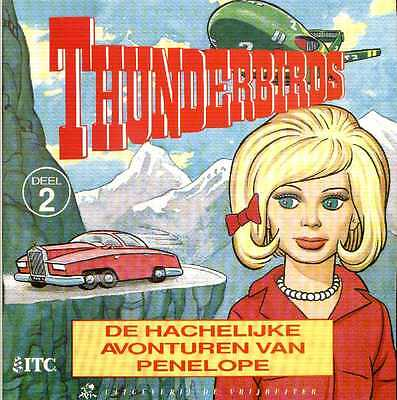 Set 8 Dutch Thunderbirds Square Books (1990s)