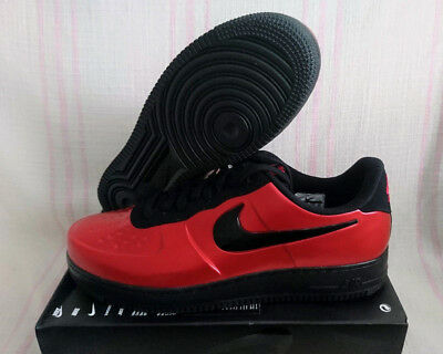 Nike AF1 Foamposite Pro Cup Gym Red Black Air Force 1 One Low AJ3664 601  Size cfc92d5eb