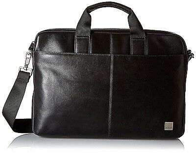 "█| KNOMO London Brompton Classic DURHAM 15"" RFID Laptop Buisness Bag UVP 339 € !"