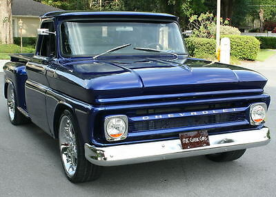 "1966 Chevrolet C-10 PICKUP - EXTRA LONG BED STEPSIDE RESTOMOD ULTRA RARE ""EXTRA"" LONG BED - 1966 Chevrolet C10 Pickup Restomod - 500 MI"