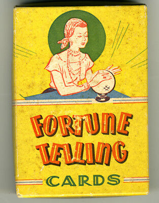 Playtime House fortune telling cards, USA,