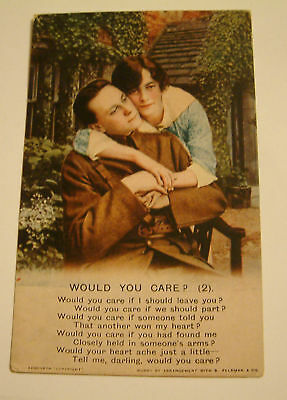 B Co 4827/2 Song Card Would You Care ? 2