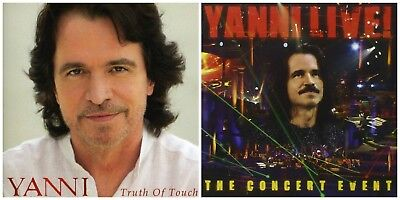 YANNI LIVE THE Concert Event * NEW Sealed CD with Bonus