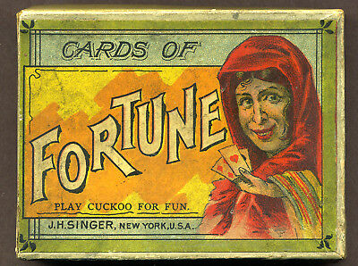 Cards of Fortune, US antique