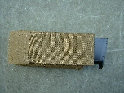 New Eagle Industries 45 S45P-MS-COY Coyote Brown MOLLE Mag Pouch w/ Kydex Insert